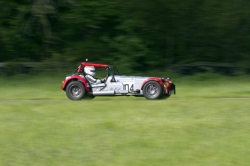 Caterham 7 at Curburough
