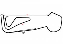 Snetterton Circuit map