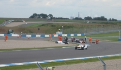 Caterham Academy crash Donington Park