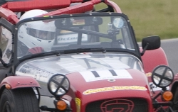 Caterham 7 racing car number 11