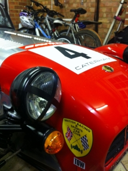 Caterham 7 Roadsports No.4 Race Car