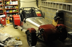 Caterham 7, almost there